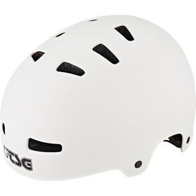 TSG Evolution Solid Color Kask rowerowy, satin white
